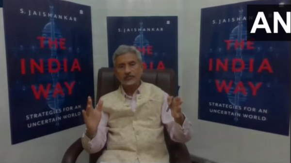 External Affairs Minister S Jaishankar over disturbance on lac ladakh