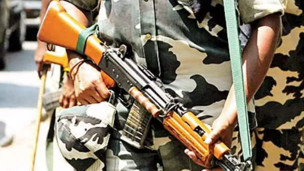 delhi CRPF Jawan shot himself with his service weapon near Pakistan High Commission