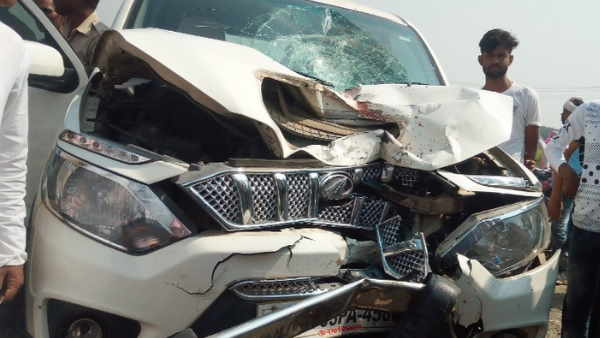 buxar road accident four people died