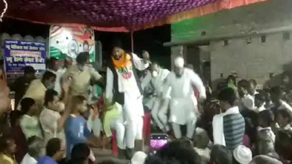 Bihar assembly election 2020 jale congress candidate ushmani video viral