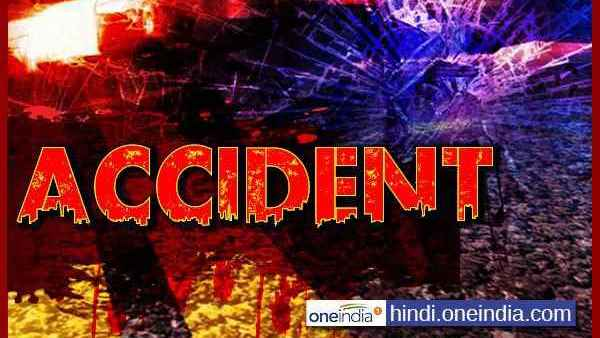 Five people of the same family died in a road accident in Prayagraj district