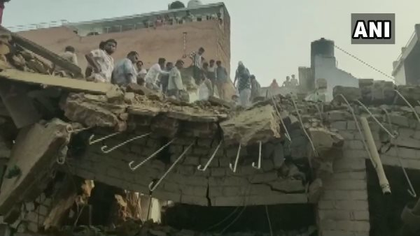 three dead many injured after explosion at house in aligarh