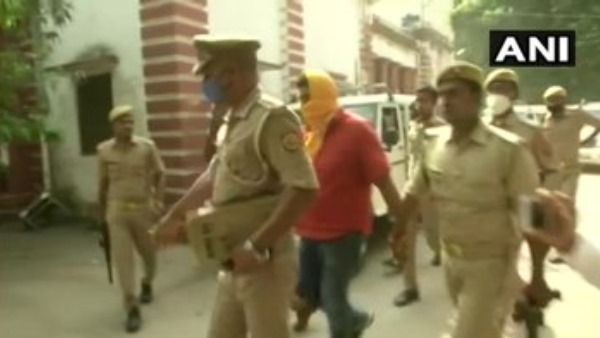 Main accused of Ballia firing incident Dhirendra Singh sent to 14 days judicial custody