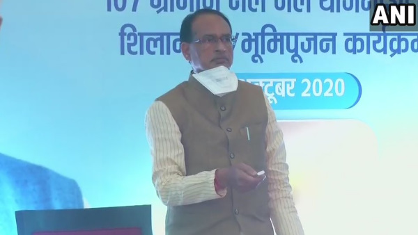 CM Shivraj Singh Chouhan virtually lays the foundation stone for 107 rural drinking water schemes