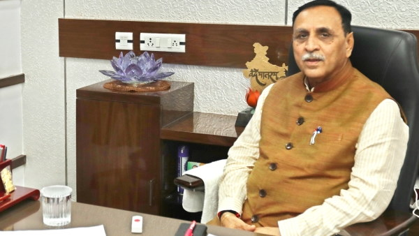 Development work of our government didnt stop even in Covid-19 period, gave 11 thousand crore projects: Rupani