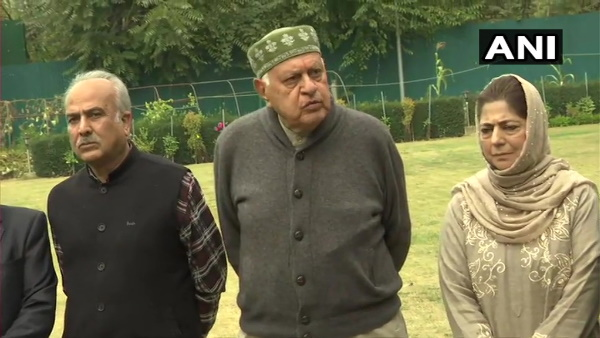 Jammu and Kashmir Farooq Abdullah will be the president of the People Alliance