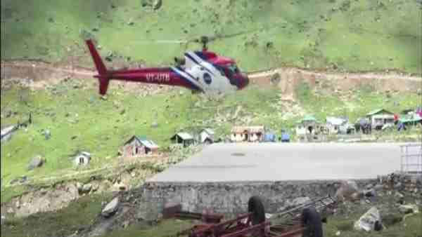 Kedarnath: Forest Department issued order for heli service, said- fly above 600 meters