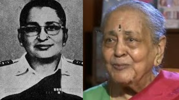 Indian air force irst woman commissioned wing Commander vijayalakshmi ramanan passed away
