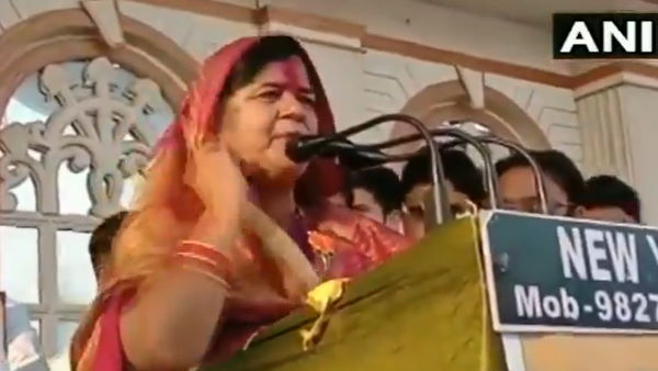 Congress party will never come to power in MP, there will always be a BJP govt here: Imarti Devi