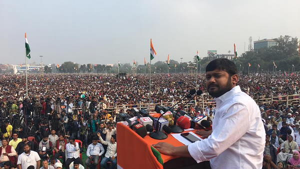 kanhaiya kumar rally in bihar, target on Nitish kumar and Modi government ahead of assembly elections