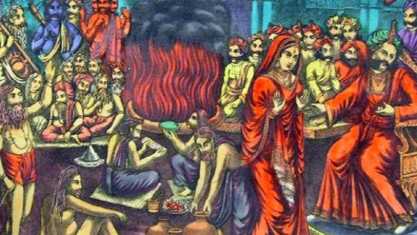 पिता दक्ष के तप फल से जन्मीं देवी सती,पढ़ें रोचक कथा