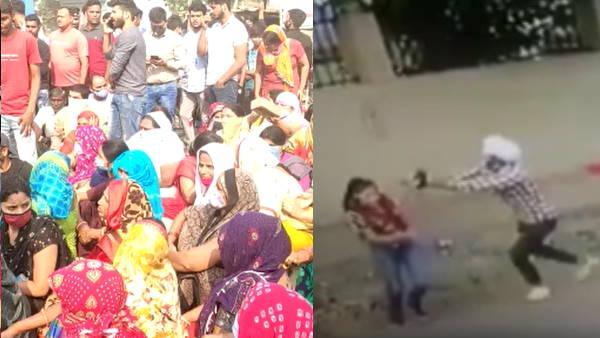 निकिता मर्डर: मामले ने लिया सांप्रदायिक रंग, बल्लभगढ़ में आक्रोशित परिजन और लोगों ने किया एनएच जाम