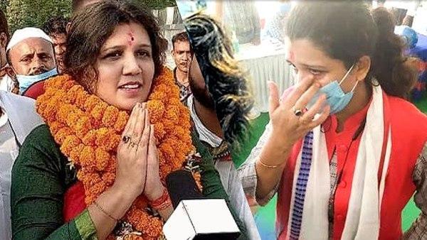 Bihar Polls 2020: नामांकन पर्चा रद्द होने पर फफक कर रो पड़ी इस पार्टी की प्रत्याशी, लगाया ये आरोप