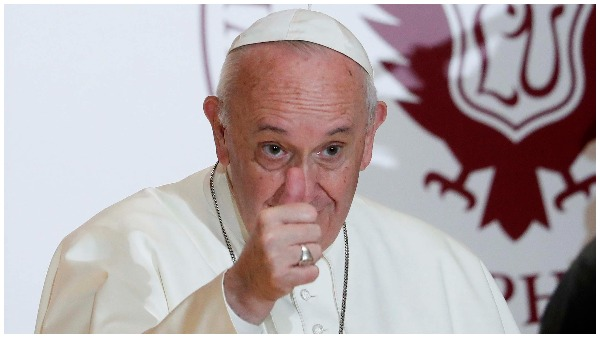 पोप फ्रांसिस ने नई डॉक्यूमेंट्री में समलैंगिक नागरिक संघों का किया समर्थन, कहा- वो भगवान के बच्चे हैं