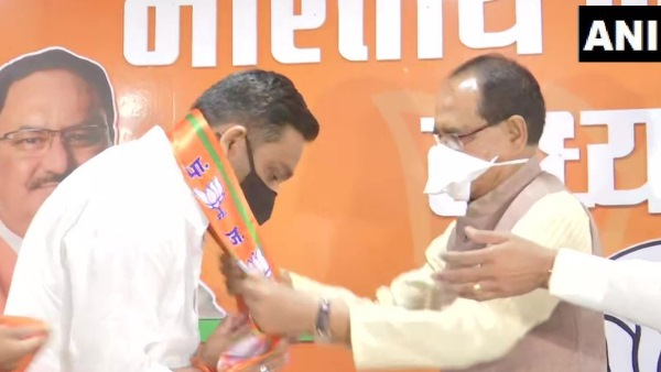 madhya pradesh by elections 2020 Rahul Lodhi joins BJP in presence of Cm Shivraj Singh Chouhan