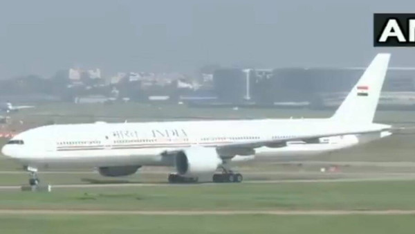 Prime Minister president second VVIP Boeing 777 Aircraft arriving today in delhi