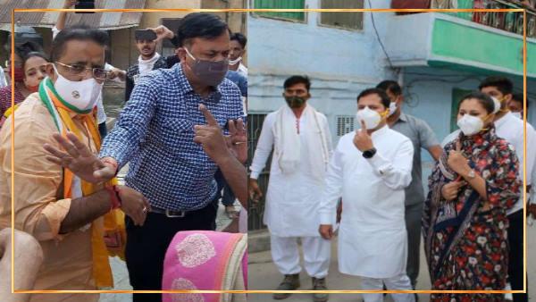 राजस्थान नगर निगम चुनाव : जयपुर हैरिटेज, जोधपुर उत्तर और कोटा उत्तर के लिए वोटिंग जारी, देखिए तस्वीरें