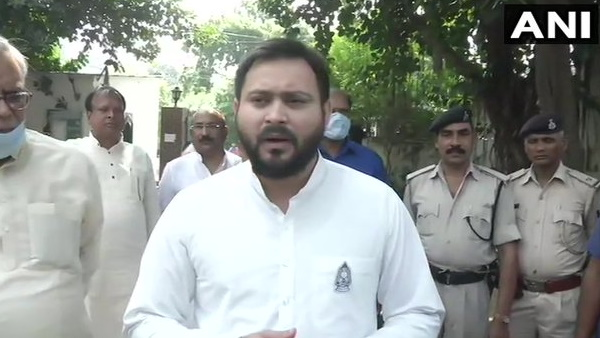 Bihar assembly election RJD leader Tejashwi Yadav filed nomination for Raghopur seat