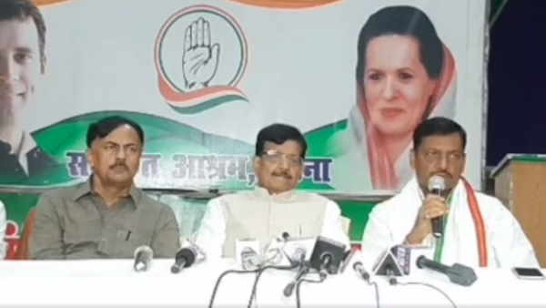 congress leaders did press conference and blaim bjp leaders