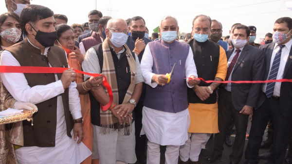 cm nitish kumar innaugurate digha aiims elevated road