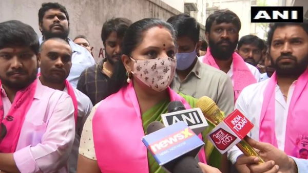We wont let anyone disturb the harmonious fabric of Hyderabad: K Kavitha, TRS