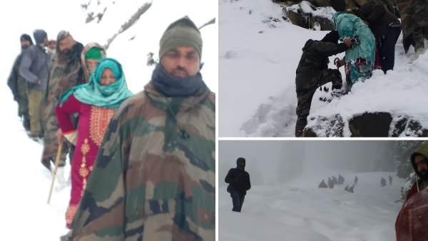 इसे भी पढ़ें- Jammu & Kashmir: बर्फबारी में फंसे 10 लोगों की बचाई जान, रात में 5 घंटे तक बर्फ पर चलकर पहुंचे जवान