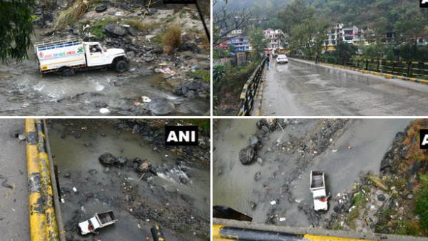 In Mandi district, a vehicle fell down in Suketi Khad water stream, Seven people lost lives, one injured
