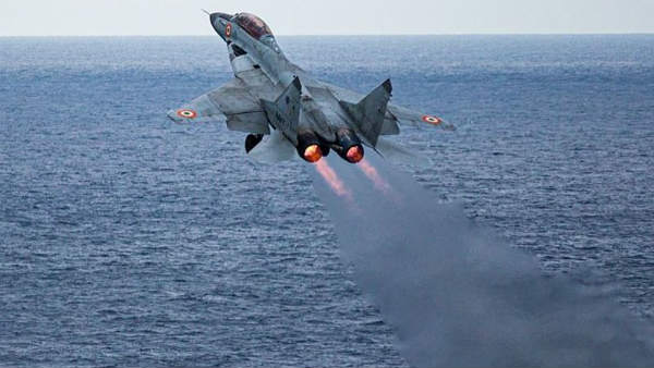 Navy MiG-29K Wreckage Indicates Missing Pilot Did Eject