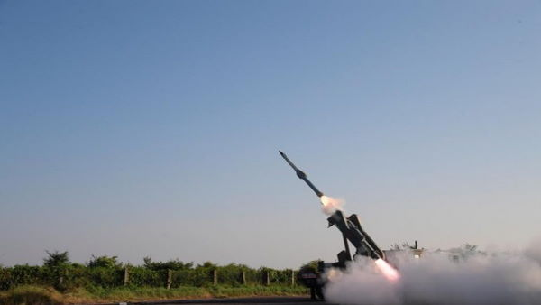 India successfully test fires Quick Reaction Surface to Air Missile in Balasore