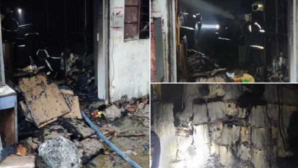 मुंबई: सतगुरु इंडस्ट्रियल एरिया में लगी भीषण आग, दमकल की 2 गाड़ियों ने पाया आग पर काबू