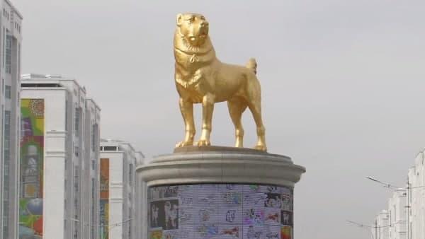 यहां के राष्ट्रपति को इस कुत्ते से था इतना प्यार कि बनवा दी सोने की मूर्ति, समारोह कर किया ग्रेंड इनाग्रेशन
