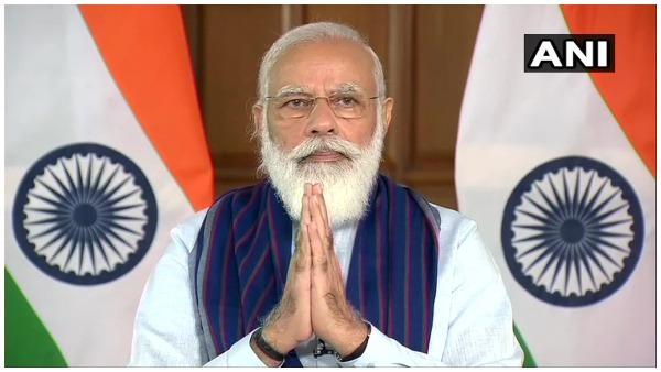 पीएम मोदी ने मिर्जापुर और सोनभद्र के पेयजल योजना का किया शिलान्यास, 42 लाख लोगों को मिलेगा लाभ