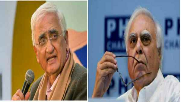 Salman Khurshid, who has been vocal on dissidents like Kapil Sibal, said - who are not blind