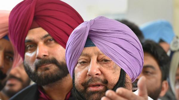 पंजाब में रूठे हुए कांग्रेसी नवजोत सिंह सिद्धू को मनाएंगे कैप्टन अमरिंदर सिंह, साथ करेंगे लंच