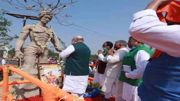 जानिए पश्चिम बंगाल में अमित शाह के एक महापुरुष की मूर्ति पर माल्यार्पण करने से क्यों छिड़ा विवाद, TMC ने लगाया ये आरोप