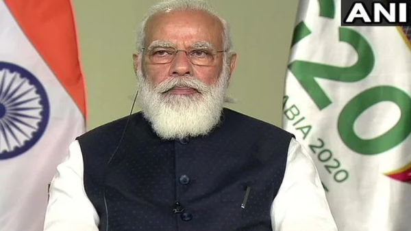 Prime Minister Narendra Modi attends the 15th G20 Summit chaired by Saudi Arabia