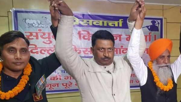 बिहारः समर्थन के लिए पटना पहुंचे किसान नेता, कहा- दिल्ली के आंदोलन में बिहार के भी किसान शामिल हो