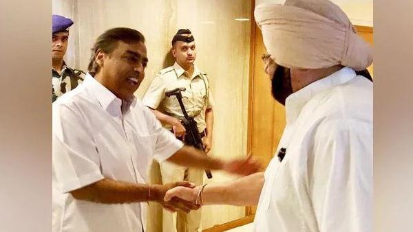 Fact Check: भारत बंद से एक दिन पहले मुकेश अंबानी से मिले थे CM अमरिंदर सिंह? जानें सच