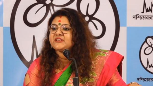 पश्चिम बंगाल में अब BJP को झटका, भाजपा सांसद सौमित्र खान की पत्नी सुजाता मोंडल खान टीएमसी में शामिल