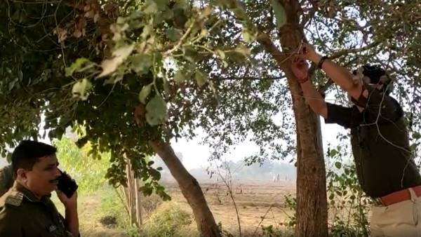 newly wed woman found hanging from tree with lover in budaun
