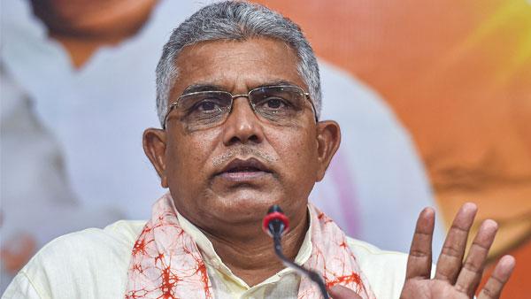 पश्चिम बंगाल: BJP चीफ दिलीप घोष की TMC को धमकी- उकसाया तो इतने जख्म देंगे कि बैंडेज नहीं जुटा पाएंगे