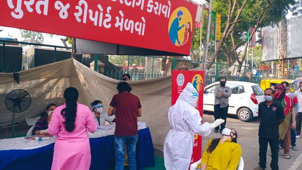 गुजरात में अब तक 90 लाख से ज्यादा कोरोना टेस्ट हुए, 219,225 लोग स्वस्थ हुए, जिलों का जानें हाल