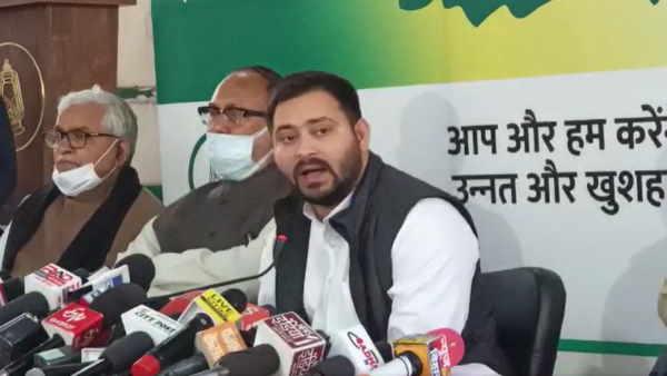 बिहारः तेजस्वी यादव ने प्रेस कांफ्रेंस कर नीतीश सरकार पर बोला हमला, कहा- किसानों को भिखारी बना दिया
