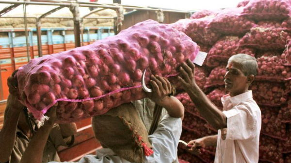 Centre lifted ban on export of all varieties of onions with effect from January 1 next year