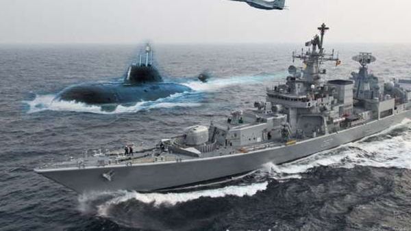 US to supply own medium caliber guns for Indian Navy Amid China conflict