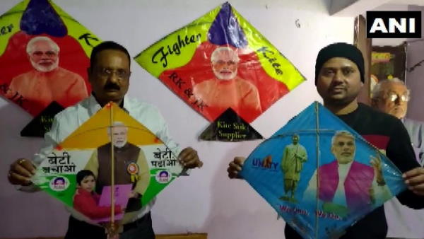 patna people demanding pm modi photos kites