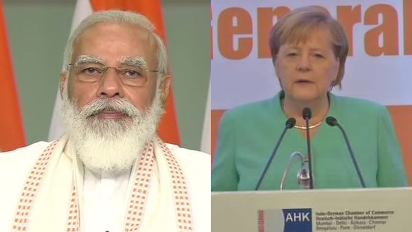 PM Modi holds video conference with German Chancellor Angela Merkel, briefs her on COVID 19 vaccine
