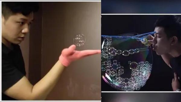 इसे भी पढ़ें- गजब का Talent! शख्स ने बड़े बुलबुले के अंदर फुलाए 783 छोटे बुलबुले, बनाया वर्ल्ड रिकॉर्ड...देखें Video