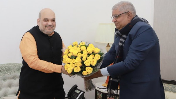 west bengal assembly elections 2021 Governor Jagdeep Dhankhar meets Home Minister Amit Shah