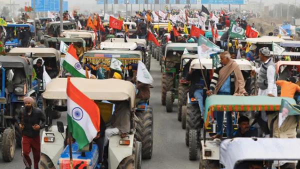 farmers tractor rally high alert in haryana after violence in delhi